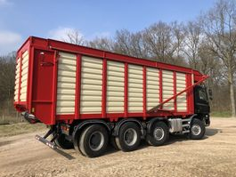 chassis cabine vrachtwagen Ginaf X 4446 TS 430 (renovated) | Harvest | KAWECO Silage system 2015 | 8x8 2006