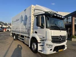 schuifzeil vrachtwagen Mercedes-Benz 1824 antos euro 6 2013