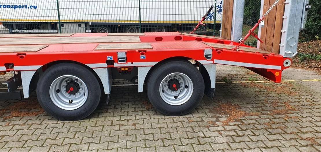 platte aanhanger vrachtwagen Kässbohrer TAN G 2+2 / ON - 20 / 20 2020