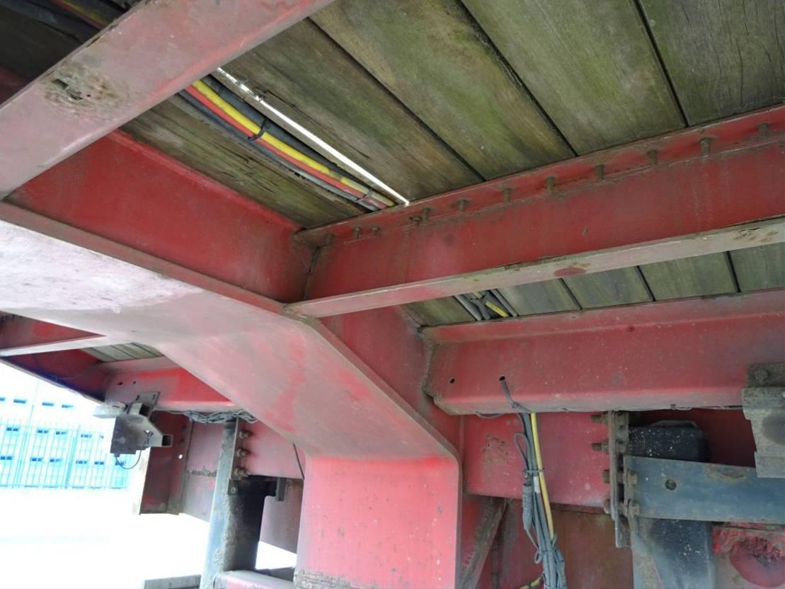 semi dieplader oplegger Nooteboom Hydraulic Ramps - 6 m extendable - Steering - APK 07/2021 2009