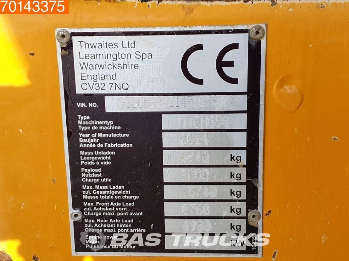 wieldumper Thwaites MACH 690 9 TON 2014