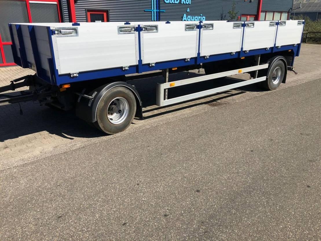 platte aanhanger vrachtwagen Diversen Schotten aanhanger