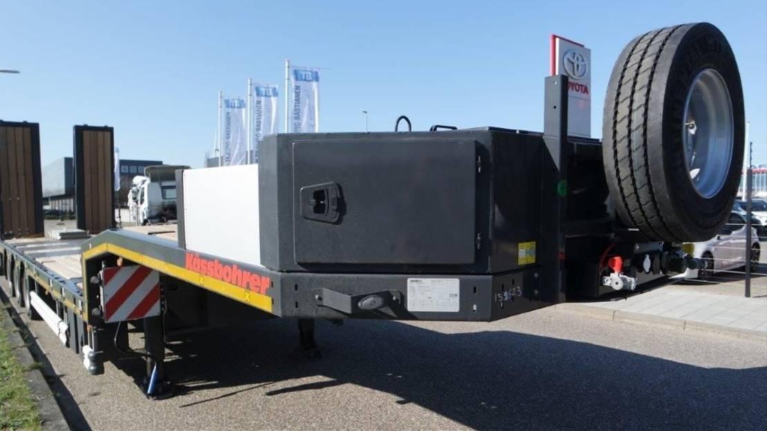 semi dieplader oplegger Kässbohrer SLA 3 / 1N - 18 / 30 2021