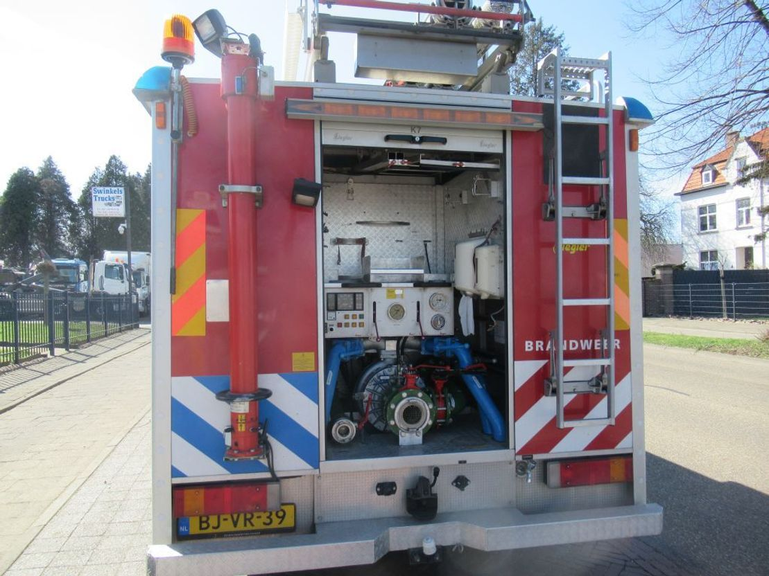 brandweerwagen vrachtwagen MAN 14MLL Tankautospuit  Ziegler 2001