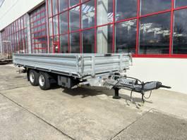 kipper vrachtwagen > 7.5 t Humbaur HTK115524  Tandemkipper- Tieflader 5,50 m Ladefläche-- Neuwertig -- 2019