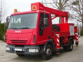 hoogwerker bedrijfswagen Iveco EuroCargo 75 E15 4x2 Palfinger BISON TKA 16 2005