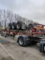 container chassis oplegger Fruehauf 40 '' voet 1986
