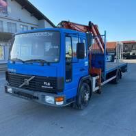 bakwagen vrachtwagen Volvo FL6 1996