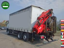 huifzeil vrachtwagen MAN TGS 26.360 6x2-2 LL Kran TIRRE 222 19,6m Joysti 2008