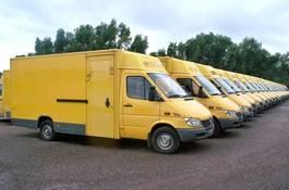 gesloten bestelwagen Mercedes-Benz Sprinter 308 CDI MAXI DPF - GRÜNE PLAKETTE 2001
