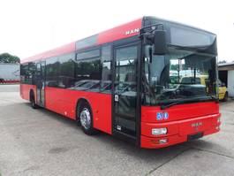 stadsbus MAN A20 - Standheizung 2005