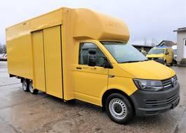 gesloten bestelwagen Volkswagen Transporter T 6 4,25t eDelBox 2015
