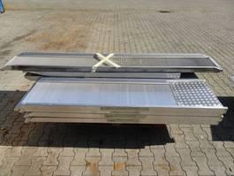 uitrusting overig Tijhof ALUMINIUM oprij-planken (diverse afmetingen)