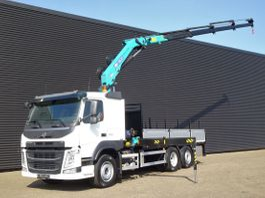 kraanwagen Volvo FM 460 6x2/4 / HMF 1820 K4 / OPEN LAADBAK 2020
