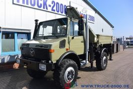 kipper vrachtwagen > 7.5 t Unimog U1650 Kipper Atlas 100.1 Kran 5.&6. Steuerkreis 1999
