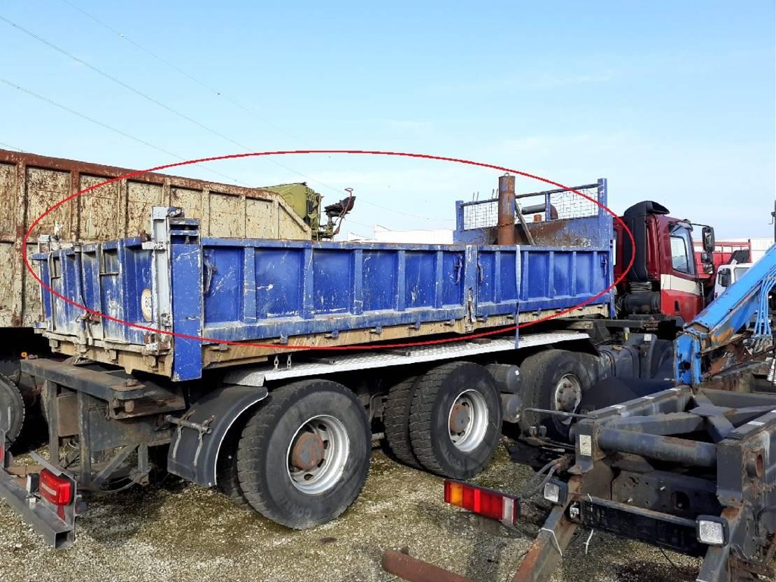 Kipperbak vrachtwagen onderdeel Diversen Occ Kipbak 577 x 254 x 80 cm