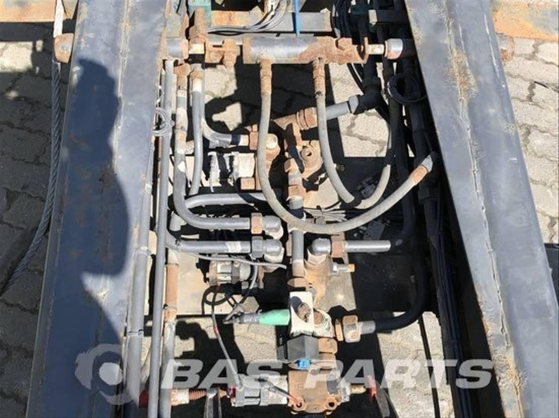 Opbouw vrachtwagen onderdeel Diversen Chassis opbouw diverse 2006