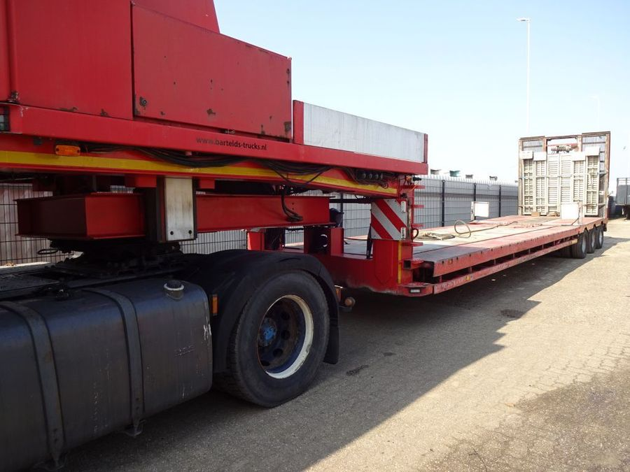Nooteboom - Hydraulic Bed + Neck - 2x Extandable till 27,7 M. - 3x PowerSteering 8