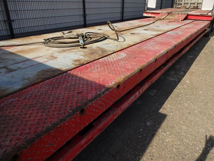 Nooteboom - Hydraulic Bed + Neck - 2x Extandable till 27,7 M. - 3x PowerSteering 4