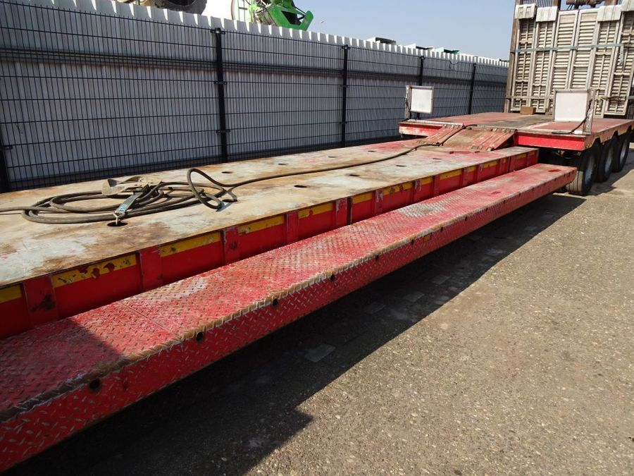 Nooteboom - Hydraulic Bed + Neck - 2x Extandable till 27,7 M. - 3x PowerSteering 3