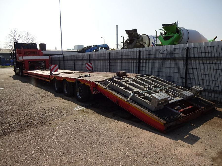 Nooteboom - Hydraulic Bed + Neck - 2x Extandable till 27,7 M. - 3x PowerSteering 12