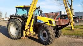 standaard tractor landbouw New Holland TS 115 SLE met Herder maaiarm 2000