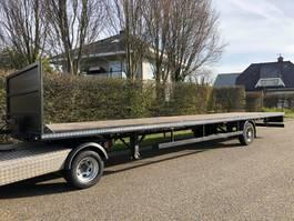 BE oplegger BE Oplegger Open laadbak - vlakke trailer 10 meter | Laadklep mogelijk. 2015
