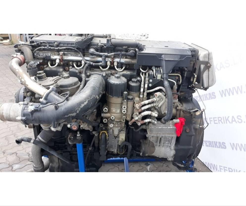 Motor vrachtwagen onderdeel Mercedes-Benz MB Actros MP4 engine 2015