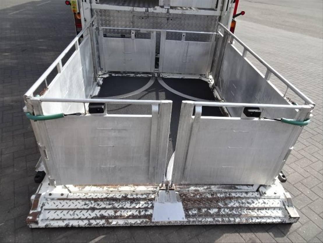 vee oplegger Berdex 3 Stock Livestock trailer 2012