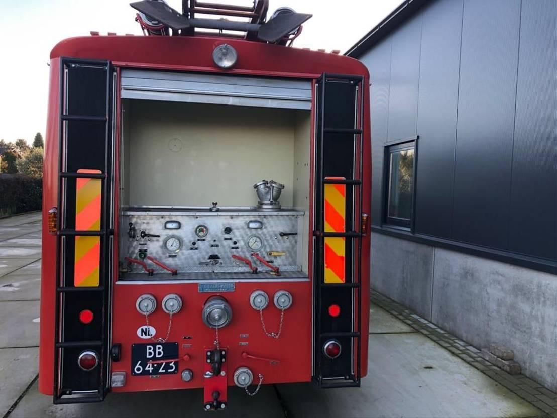 brandweerwagen vrachtwagen DAF 1967