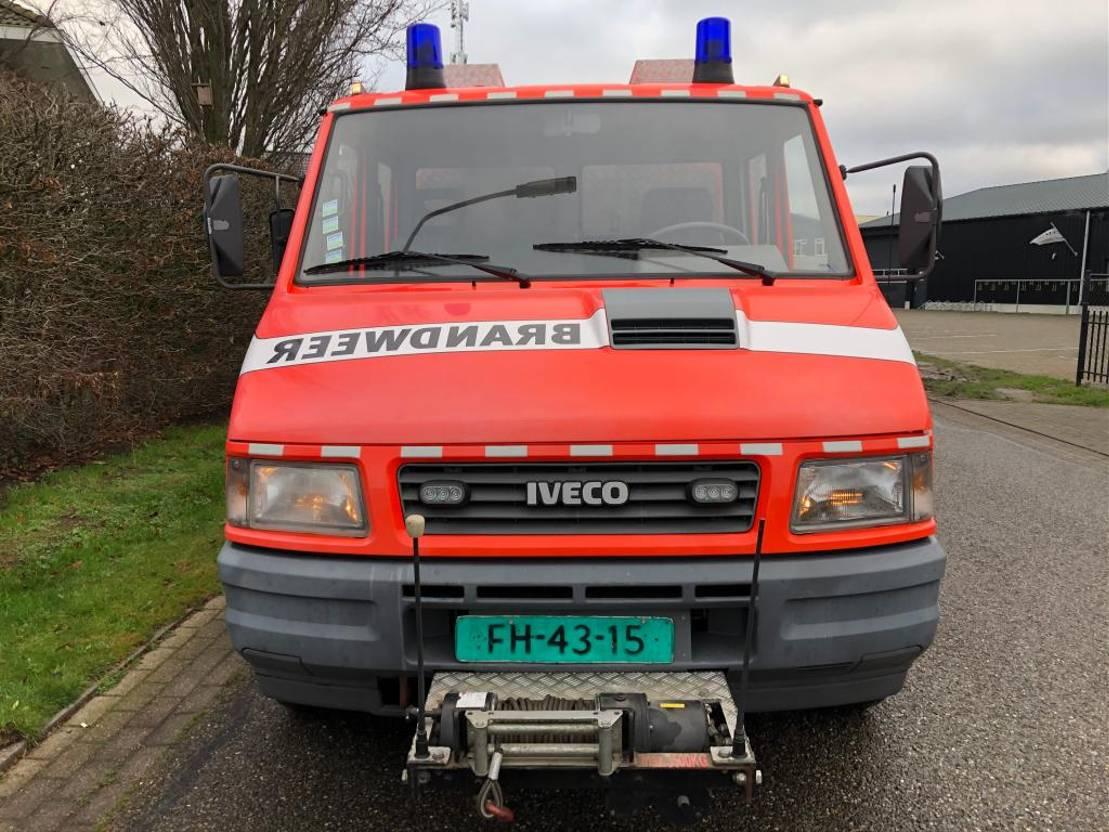 brandweerwagen vrachtwagen Iveco 59.12D Brandweerwagen / Feuerwehr Lier - nette staat! 1996