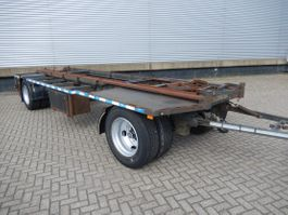 container chassis aanhanger Burg 2 As Vrachtwagen Aanhangwagen T.b.v. laadbakken, WN-59-BS 1994