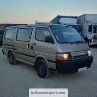 taxibus Toyota Hiace H15 2.4 diesel 2L engine 9 seats left hand drive. 1992