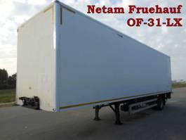 gesloten opbouw oplegger Netam-Fruehauf 1 As Oplegger T.b.v. Stalling en Opslag 1998
