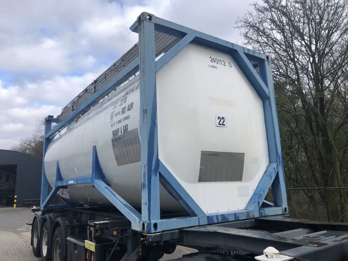 tankcontainer Welfit Oddy 24CBM3 1999