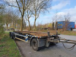 container chassis aanhanger GS AC-2800 L  -  LIFT AS  -  MARELBAAN  -  BANDEN 90% 2001