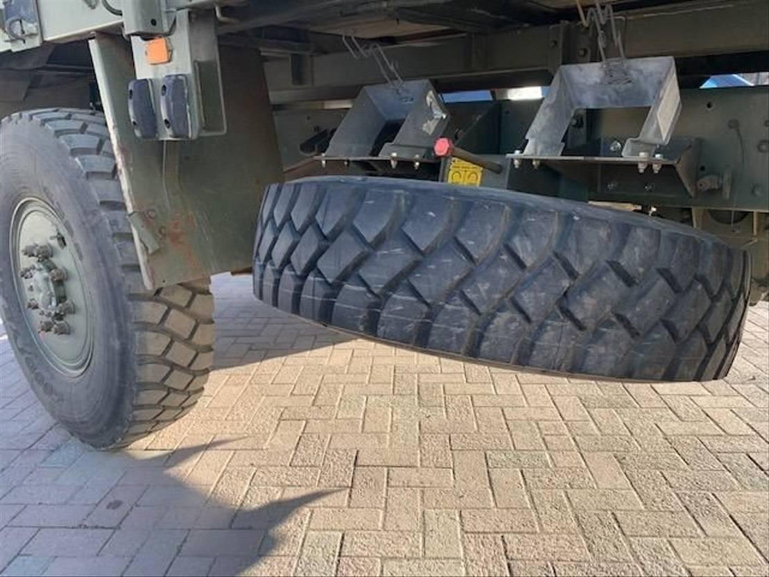 leger vrachtwagen DAF Leyland 4x4 Tanker Truck 1994