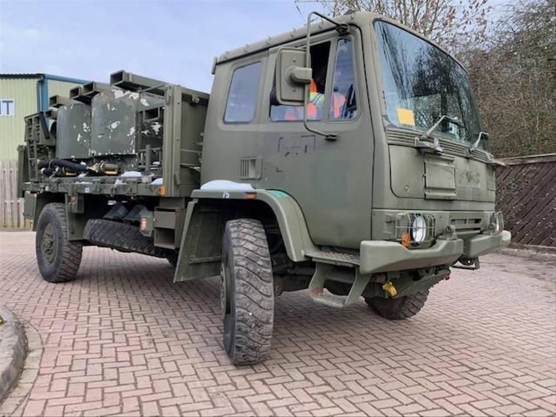 leger vrachtwagen DAF Leyland DAF 4x4 Tanker Ex Military 1994