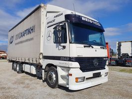 mega-volume vrachtwagen Mercedes-Benz Actros 2543 2543 L 2003