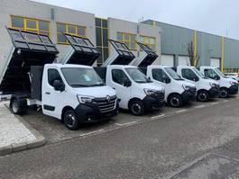 open laadbak bedrijfswagen Renault Master 8x OP VOORRAAD Renault Master Kipper 145PK AIRCO NAVI CRUISECONTROL 2021