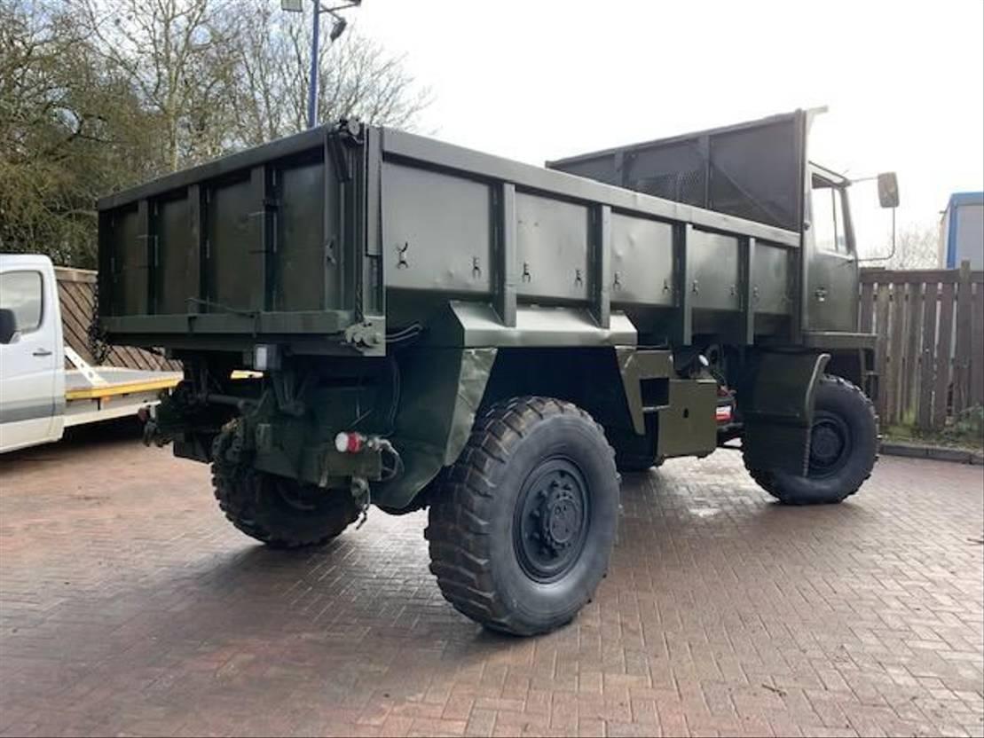 leger vrachtwagen Bedford TM 4x4 Tipper truck Ex military 1988