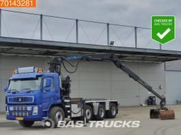 containersysteem vrachtwagen Terberg FM 1850 -T 8X4 Crane Palfinger 18 Ton/Meter Z-Crane Big-Axle 2004