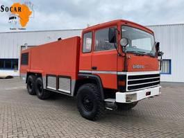 brandweerwagen vrachtwagen Renault THOMAS VP 2644 CRASHTENDER SIDES FIRE TRUCK 6x6 1989