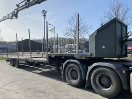 dieplader oplegger General Trailers 2 AS - BED 8,30 METER 2002