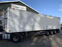 walking floor oplegger Kraker 4x CF 200 70m3 11.3M Agrar Alcoa's Automatic Roof 6.500KG TOP 2016