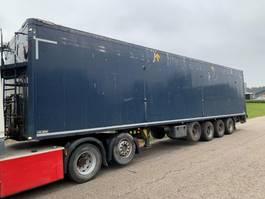 walking floor oplegger Kel-Berg 4-axle 92m2 walkingfloor trailer 2012