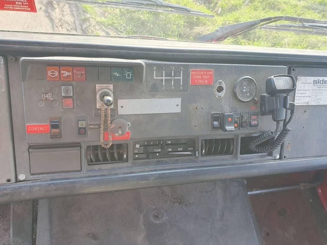 brandweerwagen vrachtwagen Renault S170 4X4JS140 1993