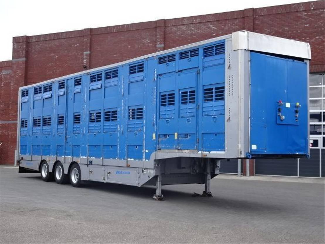 vee oplegger Michieletto 3 Stock Livestock trailer 2005