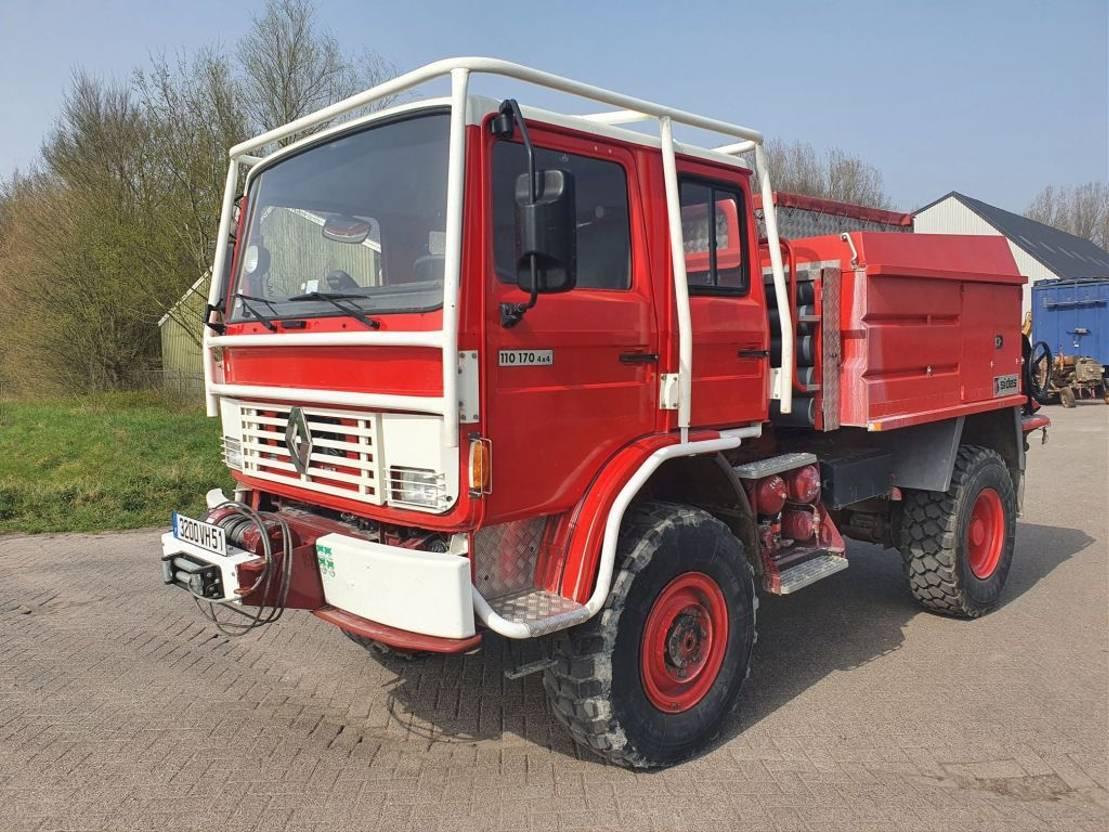 brandweerwagen vrachtwagen Renault 110 170 4x4 4X4JP3VERS30 1993