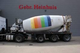 betonmixer oplegger Floor FLO-17-30 HA Mulder 15 Kub Mixer Powersteering! 1999